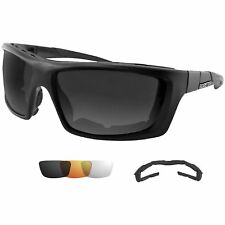 Bobster BTRI101 Trident Convertible Polarized Smked Clr And Ambr