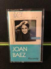 Cassette: JOAN BAEZ - Recently - 1987 Gold Castle Records BIKO w/ Peter Gabriel