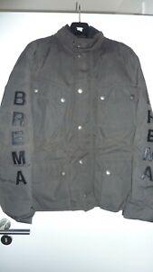 Brema Jacke Gr. 50 dunkelgrün Made in Italy motorcycle Equipment Motorrad