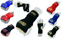 EVO Boxing Inner Gel Gloves Quick Hand wraps Punch Bag Training MMA Martial Art