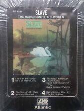 "SLAVE ""THE HARDNESS OF THE WORLD""8 TRACK (sealed)"