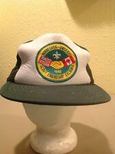 Minnesota-Ontario Scout Friendship Exchange snapback hat vintage cub scouts