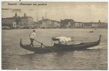 ANTICA CARTOLINA DI VENEZIA CON GONDOLA SPEDITA NEL 1921