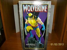 2001 Bowen Designs Wolverine  Statue by Mark Newman 11 inches tall #3256/3500