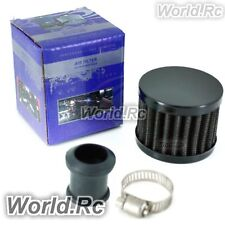 15 mm BLACK MINI AIR INTAKE CRANKCASE BREATHER FILTER VALVE COVER VENT BF002BK15