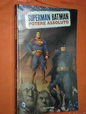 SUPERMAN BATMAN -MONDADORI- N°3- potere assoluto-ANCORA SIGILLATO -EDIZIONI-LION