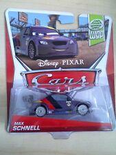 DISNEY PIXAR CARS MAX SCHNELL WGP 1:55 SCALE KIDS MINI TOY CAR