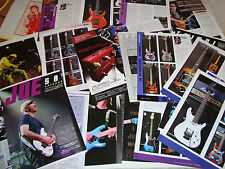 Joe Satriani & Chickenfoot Rare Collection Clippings 35 pages