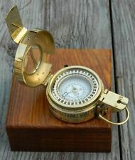 MILITARY COMPASS ENGINEERING COMPASS PRISMATIC COMPASS BRASS VINTAGE COMPAS GIFT