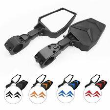 Rear View Mirrors Side Mirrors For ATV UTV Polaris RZR Yamaha Rhinos 1.75inch