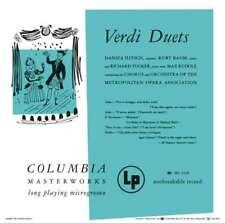 Richard Tucker - Verdi - Duetti da Opere CD SONY CLASSICAL