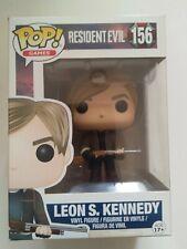 Funko Pop! - Games - Resident Evil - Leon S. Kennedy #156 - Rare