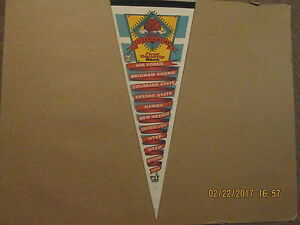 NCAA WAC TOURNAMENT Vintage 1995 At The Pit ALBUQUERQUE Basketball Pennant
