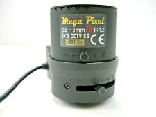 Mega Pixel 2.8 - 8mm IR 1:12 1/3 CCTV CS P-IRIS Camera Lens (USED)ALT