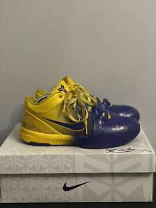 "Nike X Kobe Bryant 4 ""Four Rings"" * EXTREMLY RARE*"
