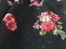 Polyester Georgette 100% 'Mansel', (per metre) dress fabric