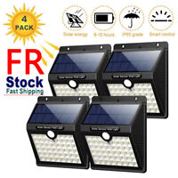 Solar Power PIR Motion Sensor LED Light Outdoor Garden Wall Lamp Waterproof Yard