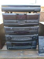 Boxed Kenwood HiFi Separates stack system Turntable, 7x CD player, Turntable, EQ