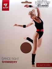 Rumpf Glanzstrumpfhose Marie Balletstrumpfhose Tanzkleidung schwarz Toast 40