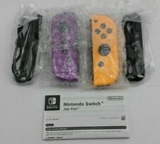 Open Box Nintendo Switch Joy-Con Gamepad Neon Purple/Neon Orange -SB1728