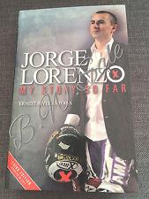 Jorge Lorenzo (3rd Edition): My Story So Far Motorbike Racing MotoGP Race Book