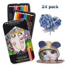 Prismacolor Premier Colored Pencils Soft Core Count Color Set 24 Pack Pencil