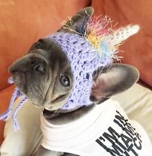 Unicorn Hat Pet Clothes Small Dog Breed Puppy Bulldog Toque Beanie Dress Up