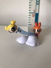 The Power Puff Girls Ride the Ray Vehicle 2 Figure  BUBBLES