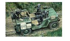 Italeri 320 - 1/35 Britischer Sas Jeep / Gefechtswagen - Neu