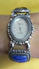 ECCLISSI 32511 Ladies Gemstone Sterling Silver Watch Stretch Bracelet