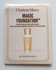 CHARLOTTE TILBURY Magic Foundation 1.5ml Samples - Full Coverage Anti-ageing NEW