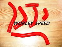 Red Silicone Hose Kit For Honda CRF450 CRF450R 2002-2004 02 03 04