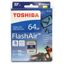Toshiba FlashAir W-04 64GB Wireless Lan SDHC UHS-I 90MB R90/W70 4K