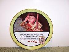 "1987 Kellogg's Nostalgia Collection Plate ""Ask The...Boy "" #4628/8,300"