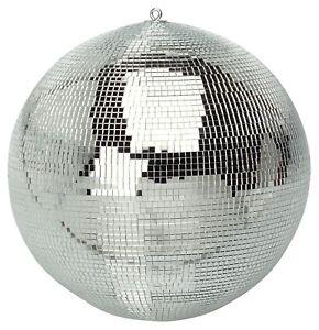 """59PDL Lightweight Silver Mirror Dance Disco Part DJ Ball (400mm 16"""") HGG007CEL"""