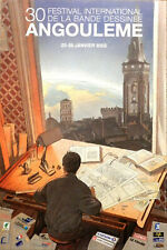 Francois Schuiten Poster Print Angouleme International Comic Book Festival 2003