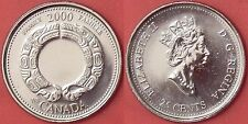Proof Like 2000 Canada Family 25 Cents From Mint's Set
