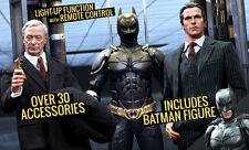 TDK~BATMAN ARMORY / BRUCE WAYNE & ALFRED~SIXTH SCALE FIGURE SET~MMS~HOT TOYS~MIB