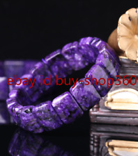 Rare Top Quality Natural Purple Charoite Crystal Gemstone Bracelet AAA++