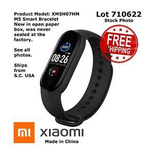 XIAOMI SMART BRACELET M5 - MODEL # XMSH07HM (New Open Paper Box) - 710622