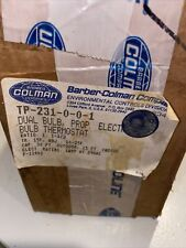 Barber Coleman  TP-231-0-0-1 Dual Bulb Electric Thermostat
