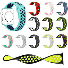Silicone Sport Band Strap 38mm/42mm/44mm/40mm For   Watch Series 5 4 3 2 1