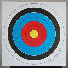 10 pcs 40*40 cm Archery Shooting Target Paper Bow Hunting Archery