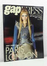 GAP PRESS MAGAZINE 2007 - 2008 Autumn and Winter Volume Vol 76  Pret-A-Porter