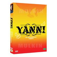 YANNI - Tribute (1997) + Live at the Acropolis (1994) 2-Disc DVD Set (*New)