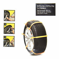 ZipClipGo Emergency Traction Aid Life Saver For Car Stuck Tire Chain In Mud Snow