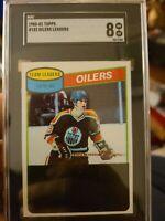 1980 Topps Checklist #182 Wayne Gretzky Oilers HOF SGC 8 NM-MT PSA BGS?
