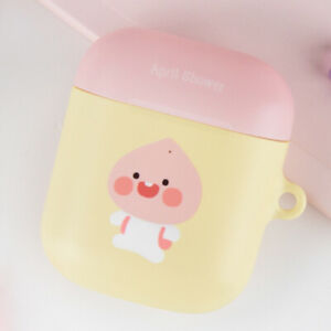 Genuine Kakao Friends April Shower School AirPods Hard Case made in Korea
