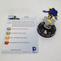 Heroclix Teen Titans set Static #045 Rare figure w/card!