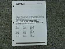 Caterpillar Cat 320 L N S 325 L N 330 L LN Excavator Electrical System Op Manual